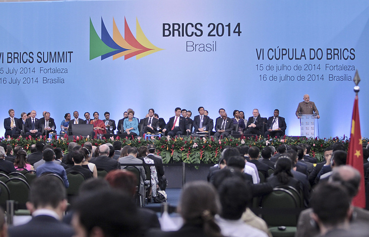 6th Summit of the BRICS in Fortaleza, Brazil