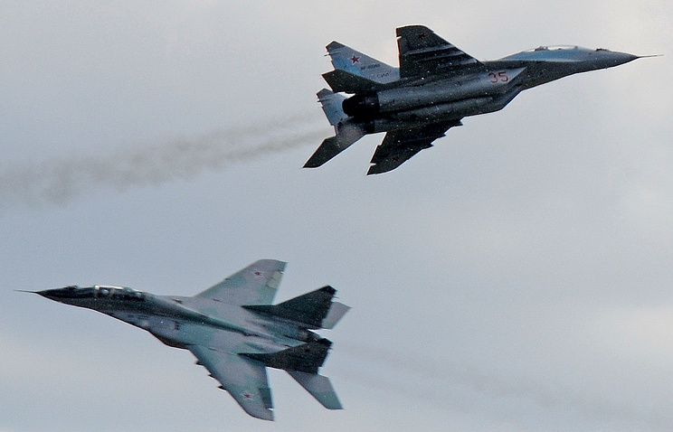 Fighter jets of the Russian Air Force (archive)