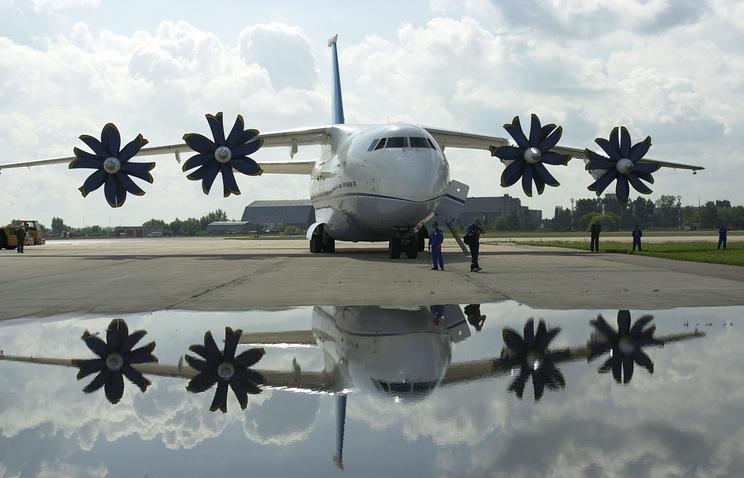 An-70 military transport aircraft