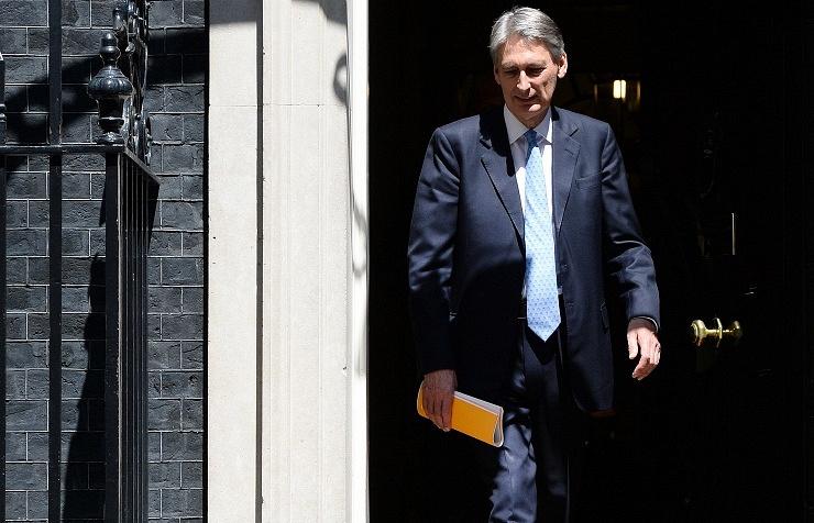 UK Foreign Secretary Philip Hammond