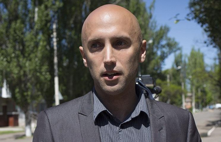 Stringer of Russian TV channel RT Graham Phillips