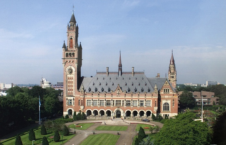 The Peace Palace, seat of the International Court of Justice in The Hague