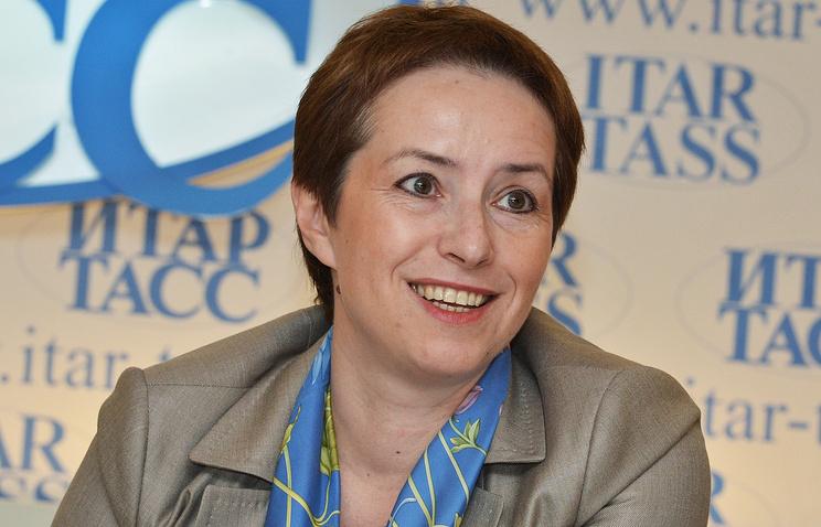 Olga Dergunova, head of the Federal Agency for the Federal Property