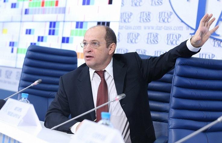 Head of the Russian Football Premier League Sergei Pryadkin