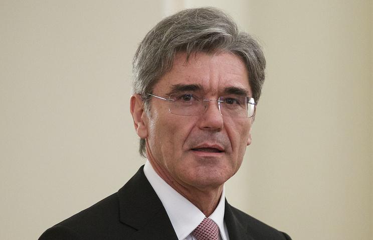 Siemens CEO Josef Kaeser