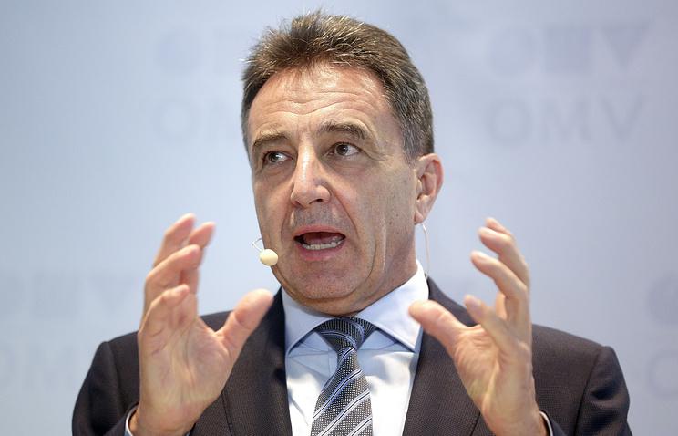 OMV CEO Gerhard Roiss