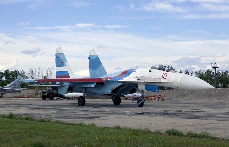 Russian Su-27 fighter