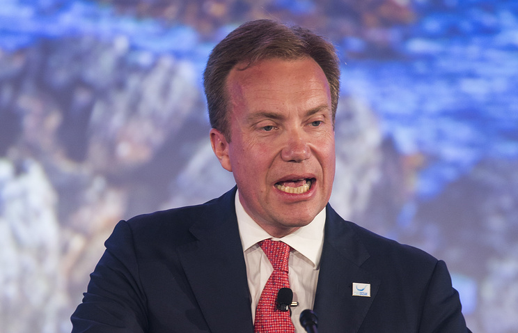 Norway's Foreign Minister Berge Brende