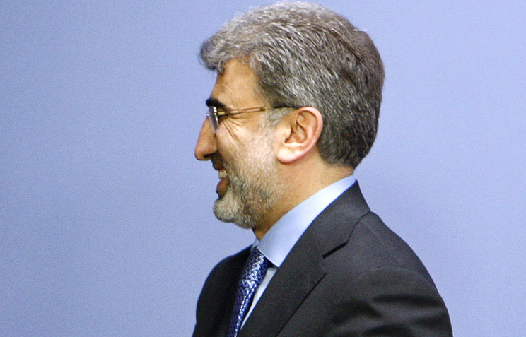 Turkish Energy and Natural Resources Minister Taner Yildiz