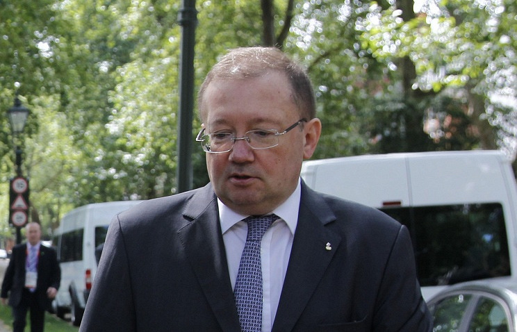 Russia's ambassador in Britain Aleksandr Yakovenko