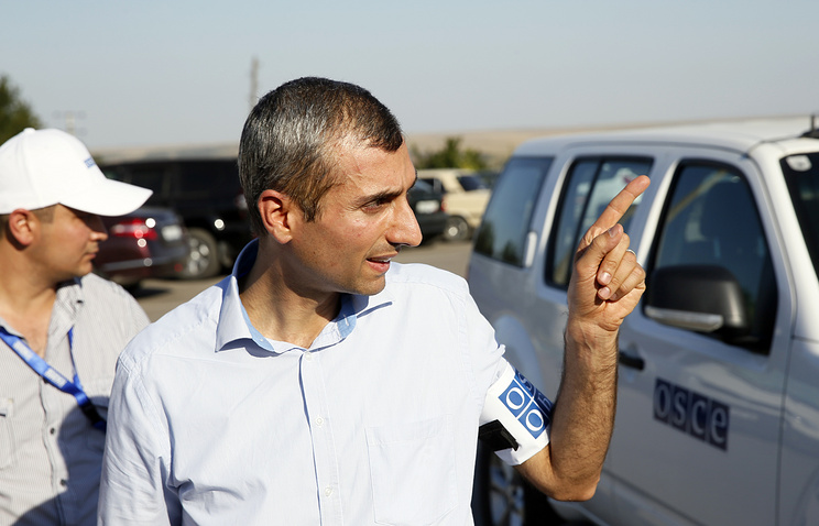 Paul Picard, Acting Chief Observer of OSCE Observer Mission at Russian Checkpoints