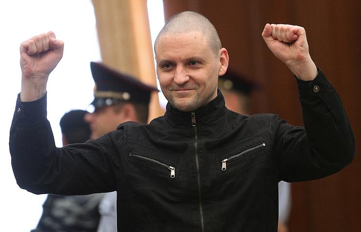 Russian opposition activist Sergei Udaltsov