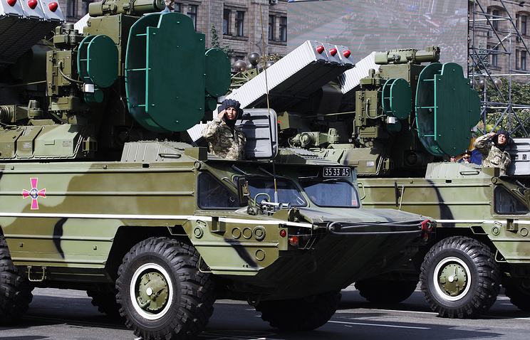 Independence Day parade in Kiev