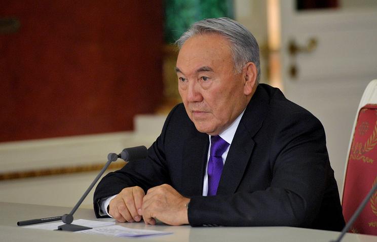 Kazakhstani President Nursultan Nazarbayev
