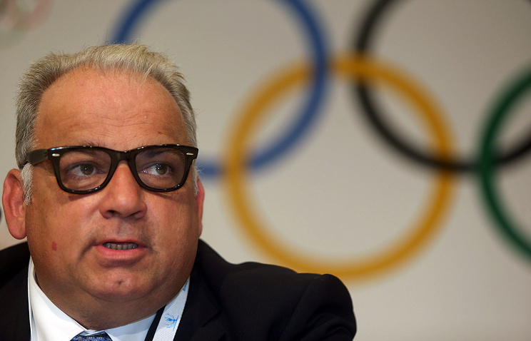 Serbian Nenad Lalovic, President of the United World Wrestling (UWW) (former International Federation of Associated Wrestling Styles, FILA)