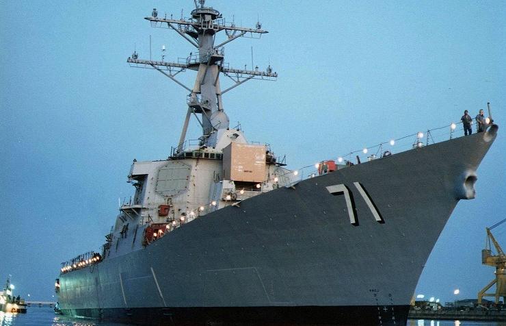 U.S. Navy frigate Ross