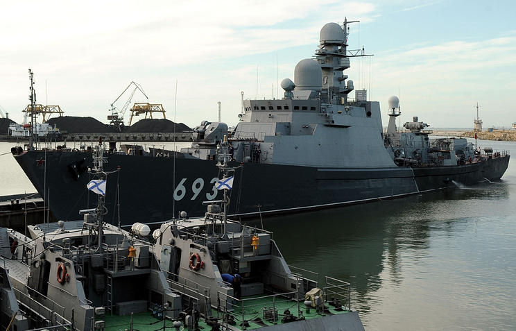 The Dagestan guard ship