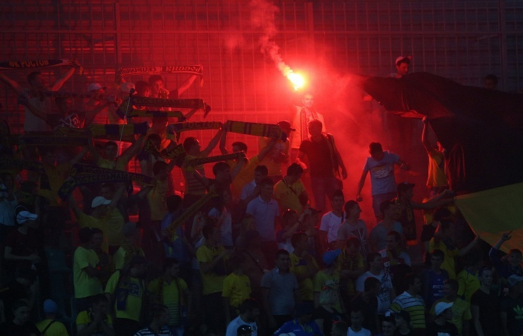 CSKA football fans