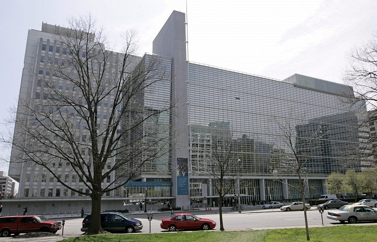 The World Bank headquarters in Washington DC, US