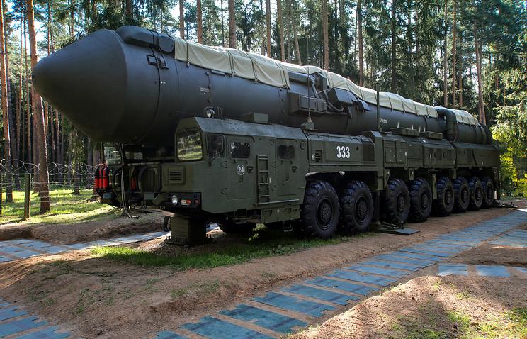 Yars ballistic missile