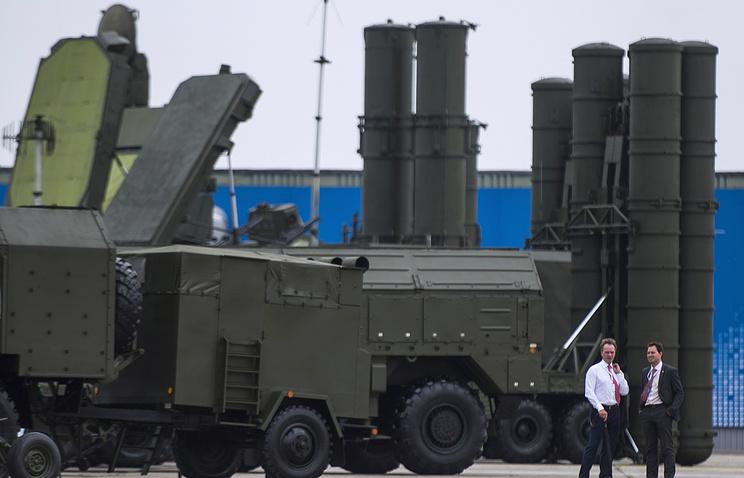 S-400 Triumf air defense missile system