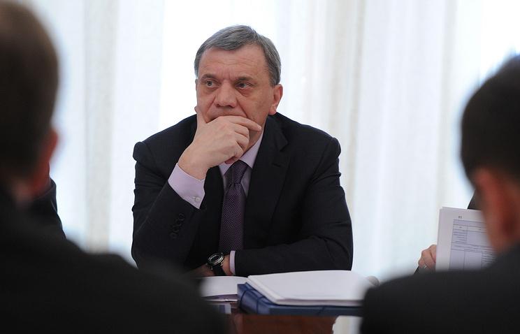 Deputy Defense Minister Yury Borisov