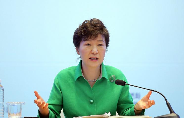 South Korean President Park Geun-hye