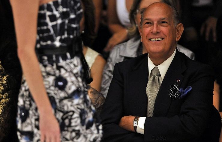 Oscar de la Renta in 2009
