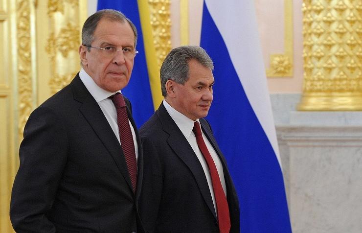 Sergey Lavrov and Sergey Shoigu