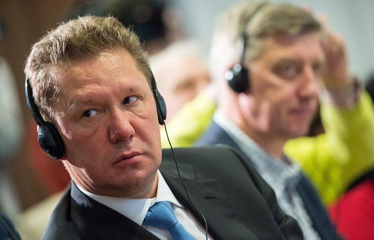 Gazprom head Aleksey Miller