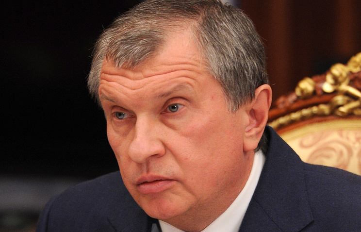 Igor Sechin, CEO of Rosneft