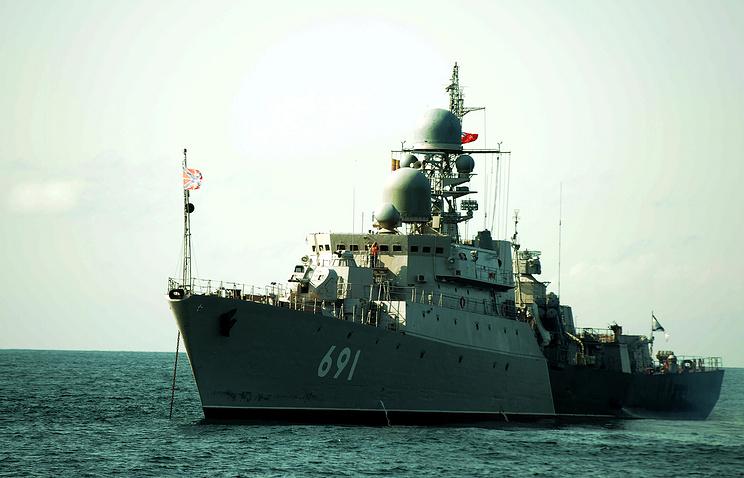Russian Gepard class frigate Tatarstan