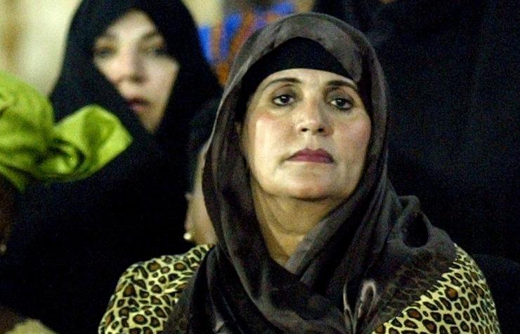 Muammar Gaddafi's widow Safia
