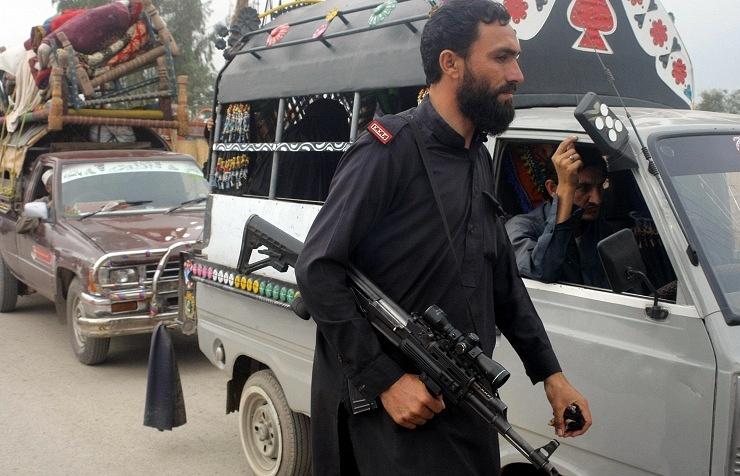 Pakistani security member (archive)