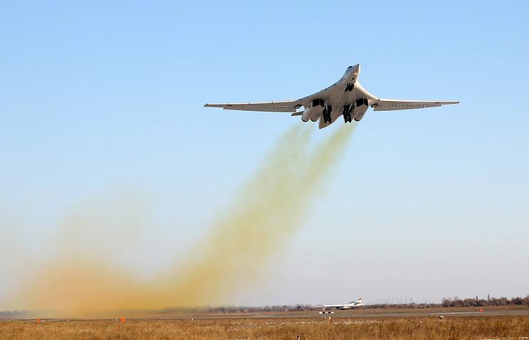 Russia's Tu-160 bomber