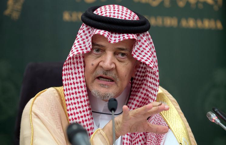 Saudi Foreign Minister, Saud al-Faisal