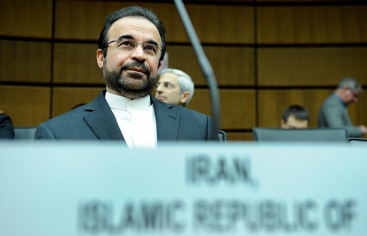 Iran's ambassador to the IAEA (International Atomic Energy Agency) Reza Najafi