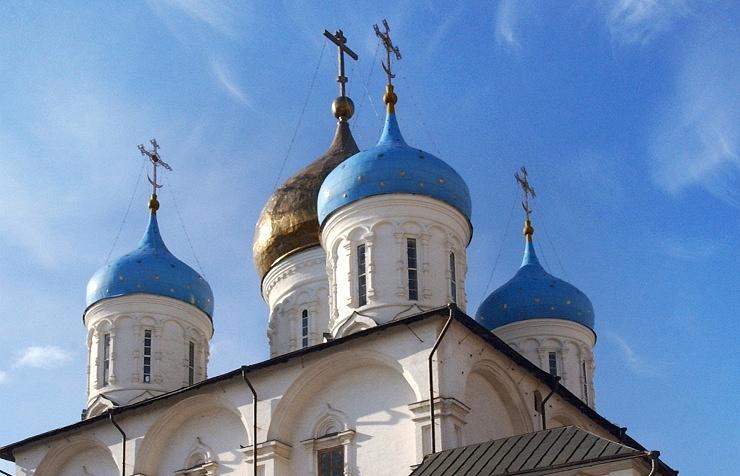 Moscow's Novospassky Monastery