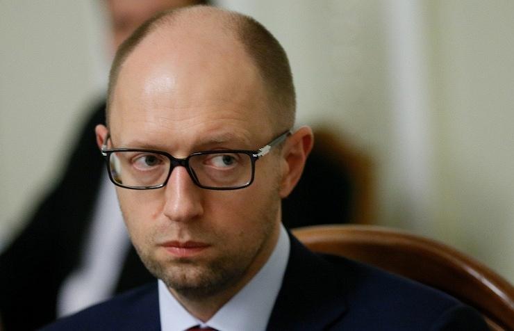 Ukrainian Prime Minister Arseniy Yatsenyuk