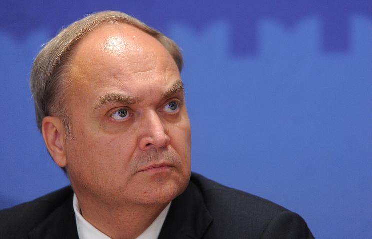 Russian Deputy Defense Minister Anatoly Antonov