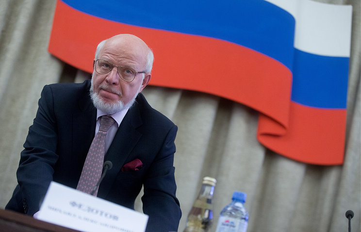Mikhail Fedotov, the head of the Russian Presidential Human Rights Council