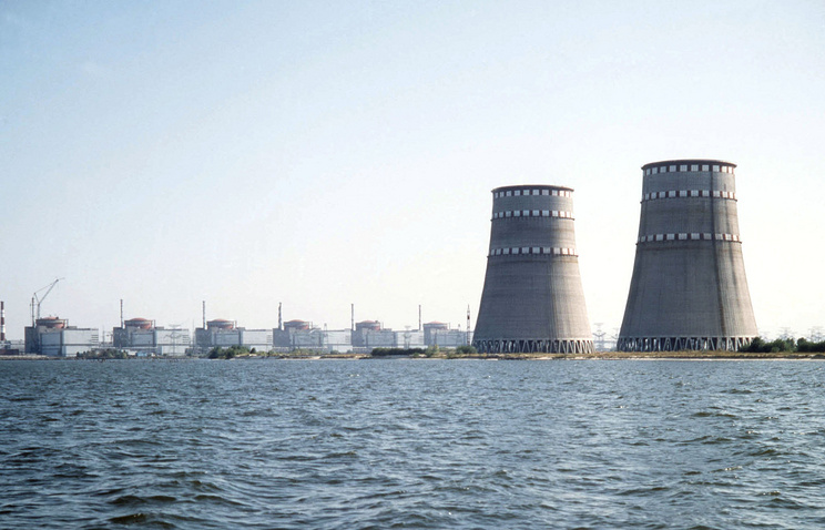 The Zaporizhia nuclear plant (archive)
