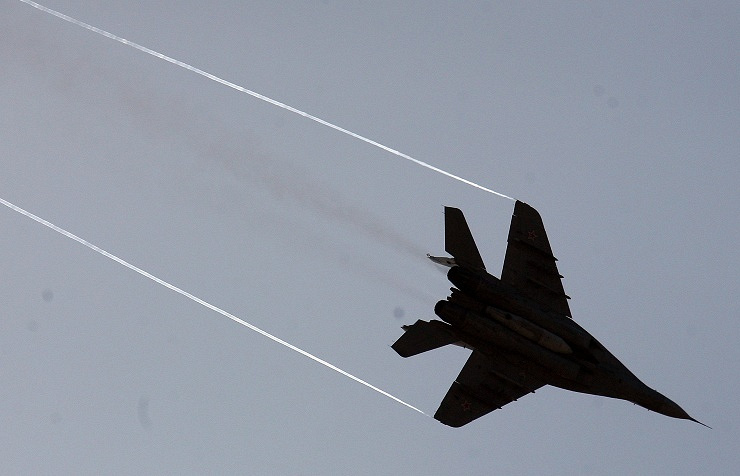 MIG-29 fighter jet (archive)
