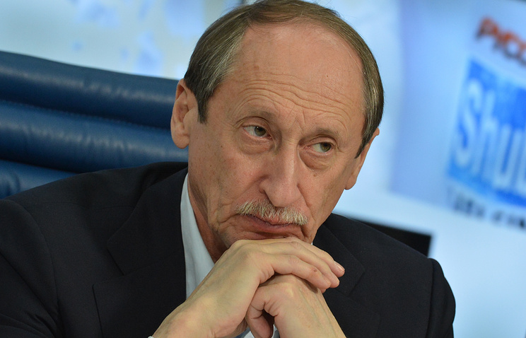 Russian athletics federation chief, Valentin Balakhnichev
