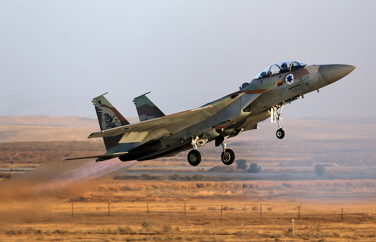 Israeli Air Force fighter jet