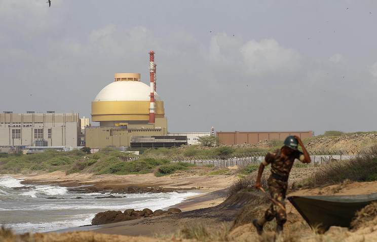 Kudankulam nuclear plant in India