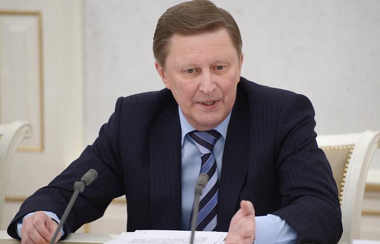 Kremlin administration chief Sergey Ivanov