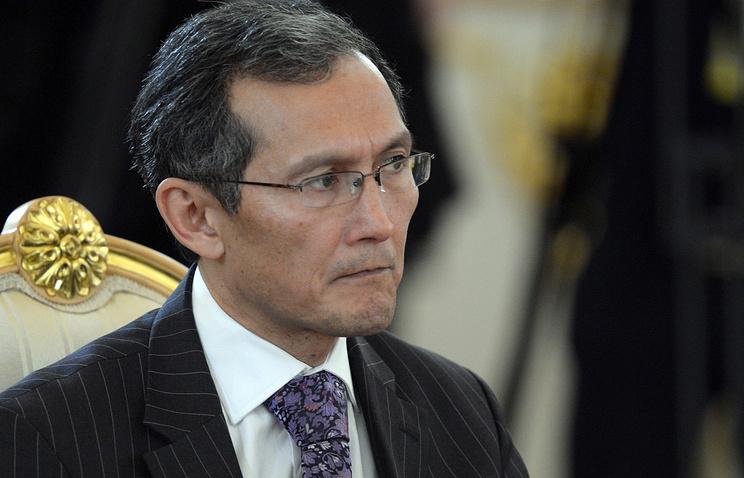 Kyrgyzstan's Prime Minister Joomart Otorbayev