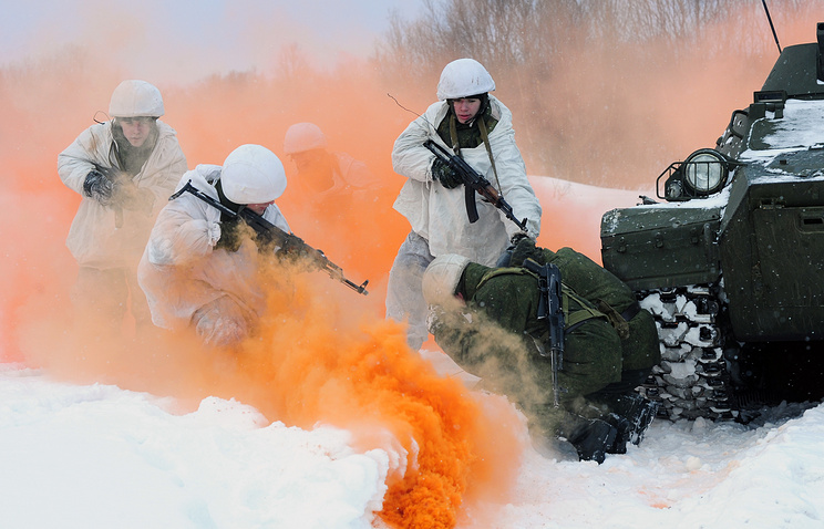 Northern Fleet motorised infantry brigade at Pechenga