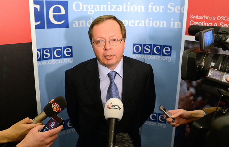 Russia's ambassador to the OSCE Andrey Kelin